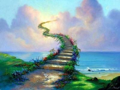 de weg naar de hemel
