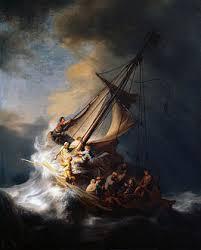 Met Jesus op zee